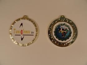 """Золотая медаль устройства """"АВЕРС-ДУШ"""" за лучшее изобретение медицинской техники на Международной олимпиаде изобретений и инноваций в Тунисе (с 7 по 18 марта 2014 года)"""
