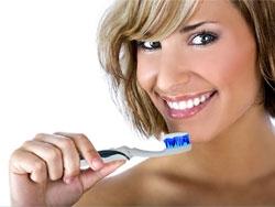 """Зубная щётка с монохроматическими излучателями синего света """"АВЕРС-СТОМ"""""""