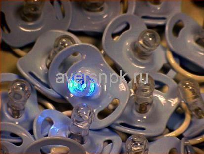 """Микропроцессорное оптоэлектронное физиотерапевтическое устройство соска """"Доктор Свет"""" для лечения кашля, ОРЗ и ОРВИ."""