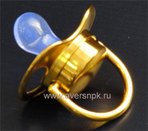 """Соска """"Доктор Свет"""" с покрытием из золота купить в Москве у производителя +7 (495) 795-14-52"""