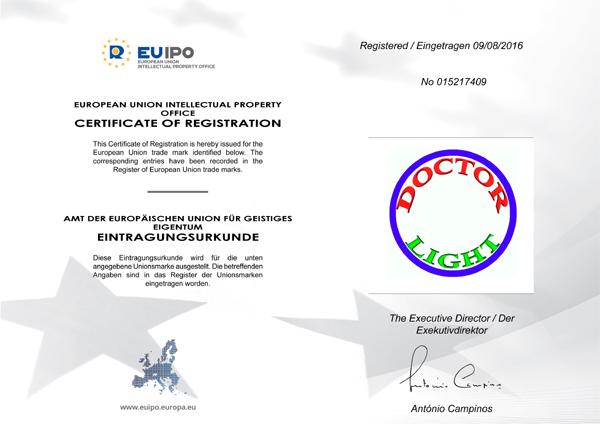 Документ - Европейский товарный знак от 9 августа 2016 года №015217409